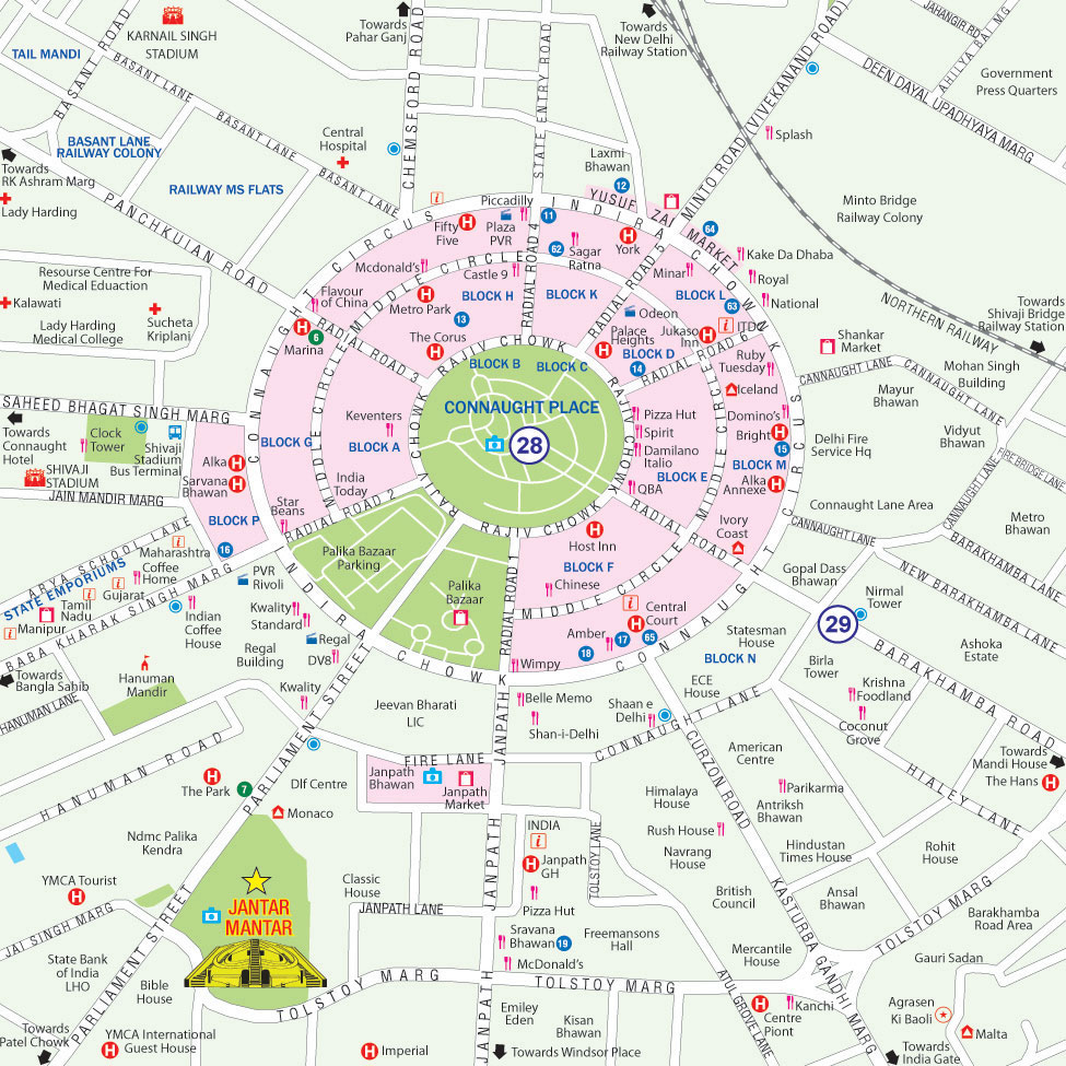 Delhi City Map Maps of Delhi :: Delhi City Map